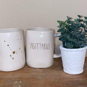 Rae Dunn SAGITTARIUS ♐️ White mug